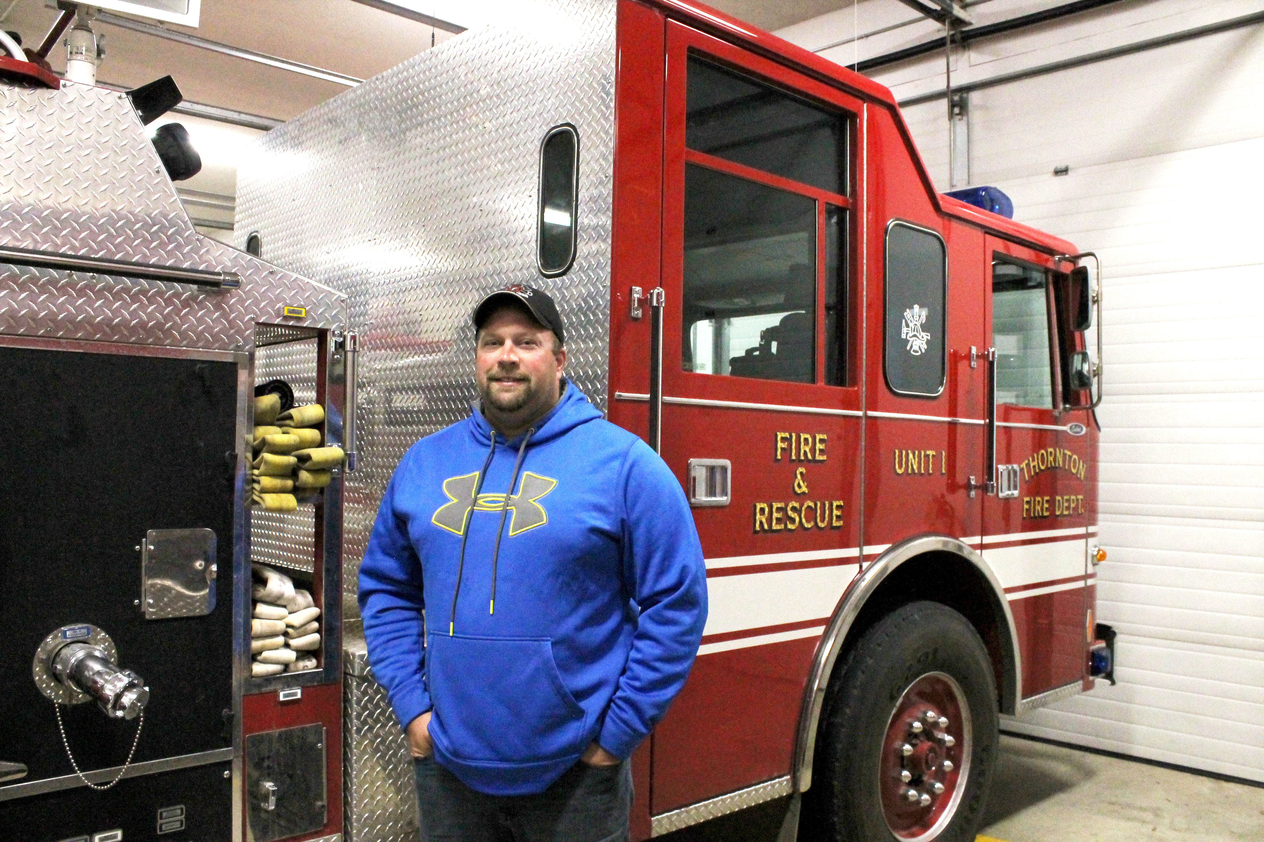 Farmer, Rob Schmidt, Thornton Fire Department