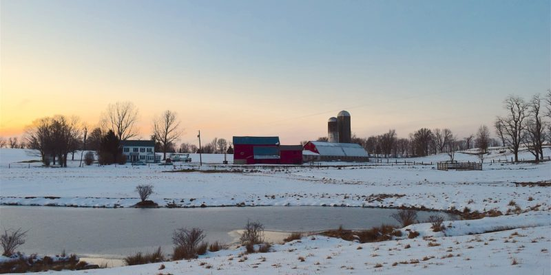 Snow and cold temperatures in rural Iowa require quality and safe propane products and tanks.